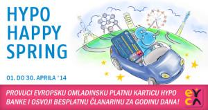 Hypo Happy Spring kampanja – osvoji besplatnu EYCA članarinu za godinu dana!