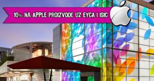 10% na apple proizvode uz EYCA i ISIC