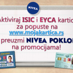 NIVEA pokloni za sve korisnike ISIC i EYCA kartica!