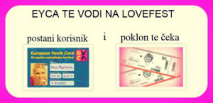 EYCA te vodi na LOVEFEST!